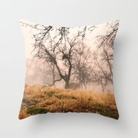 Natural Mystic In The Ai… Throw Pillow