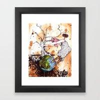 No Longer In Your World Framed Art Print