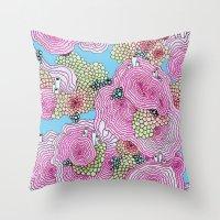 Reef #3.5.1 Throw Pillow