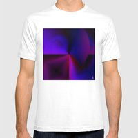 Graphical Expression II Mens Fitted Tee White SMALL