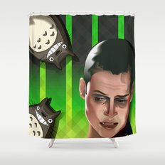 In space no one can hear you scream Shower Curtain