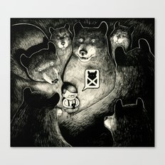 BearScare.App Canvas Print