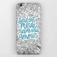 Excepte Vous Amour iPhone & iPod Skin