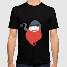 Beard SMALL Mens Fitted Tee Black