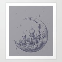 Arabian Crescent Art Print