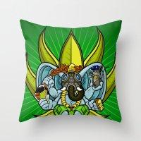 Ever Seen An Elephant (s… Throw Pillow