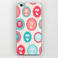 Kitsch Cameo Flora iPhone & iPod Skin