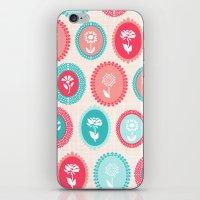 Kitsch Cameo Flora iPhone & iPod Skin