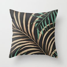 Tropic Nights Throw Pillow