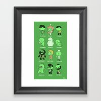 Cthul-Who?  Framed Art Print