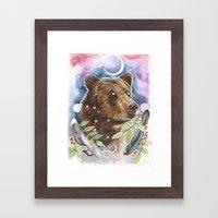 Ursa Framed Art Print