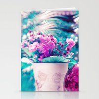 SUMMER ROSES Stationery Cards