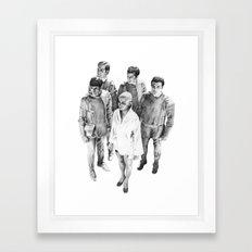 Star Trek - Let's see V'ger Framed Art Print