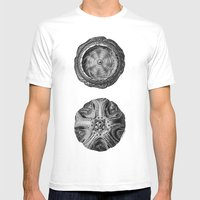 Mystical Orbs Mens Fitted Tee White SMALL