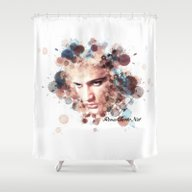 Elvis IIII Shower Curtain