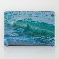 Crashing Wave At Dusk iPad Case