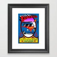 Supervan Framed Art Print