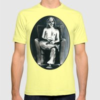 The Clown Who Wasn't Fun… Mens Fitted Tee Lemon SMALL