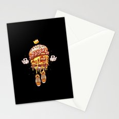King Burger Stationery Cards