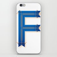 The Letter F iPhone & iPod Skin