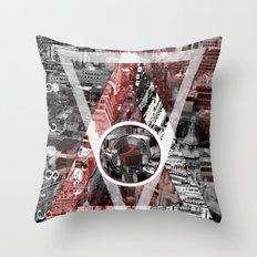 London City. Throw Pillow