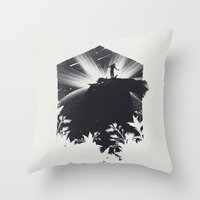 The Cosmic Gate Throw Pillow