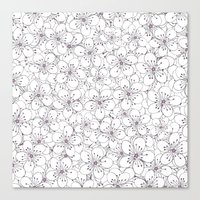Cherry Blossom Pink - In… Canvas Print