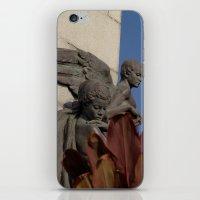 Fallen angels iPhone & iPod Skin