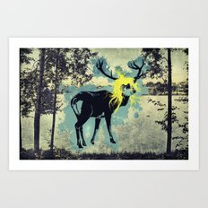 Just becuase I am blond doesn't mean I put out! Art Print