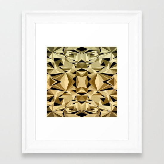ABSTRACTION ARTDECO Framed Art Print