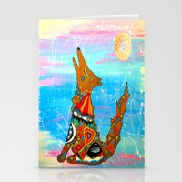 HOWLIN COYOTE Stationery Cards
