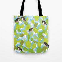 Cactus and Wren Tote Bag