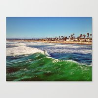 Surf Air Canvas Print