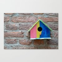 Birdhouse 2 Canvas Print