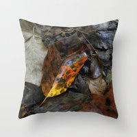 There's A Fire In The Fo… Throw Pillow