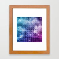 Galaxy Fade Framed Art Print