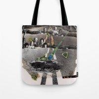 Strange Angels | Collage Tote Bag