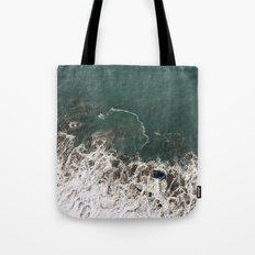 Wave Crash Tote Bag