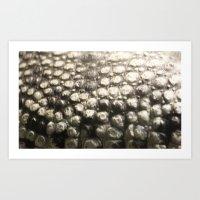 Croc Abstract III Art Print