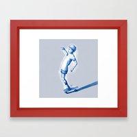 Rider I Framed Art Print