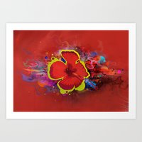 What the Flux... Art Print