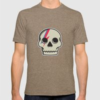 Skully Sane Mens Fitted Tee Tri-Coffee SMALL