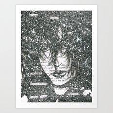 Fade to White Art Print