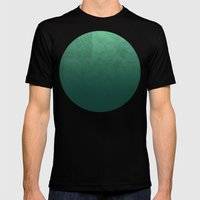 Jade Map Mens Fitted Tee Black SMALL