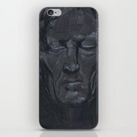 Portrait Of Man With Eye… iPhone & iPod Skin