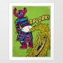 Splork Art Print