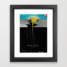 Peter Jecza Framed Art Print