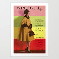 1961 Fall/Winter Catalog Cover Art Print