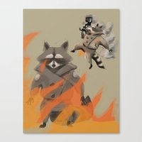 Feel the Burn! Canvas Print