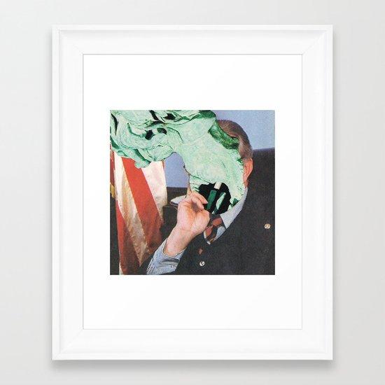 Paul O. Ticks Framed Art Print